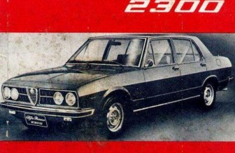 Manual do proprietário do Alfa Romeo 2300 – 1974