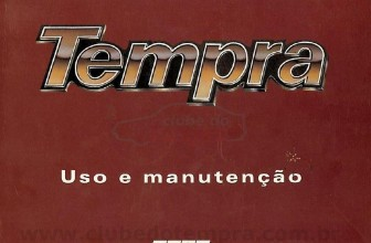 Manual do proprietário do Fiat Tempra