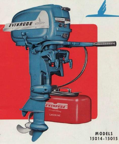 Manual Do Propriet U00e1rio Do Motor De Popa Evinrude Fastwin 15 Hp 1955